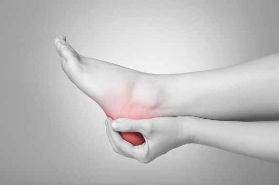 aching heel